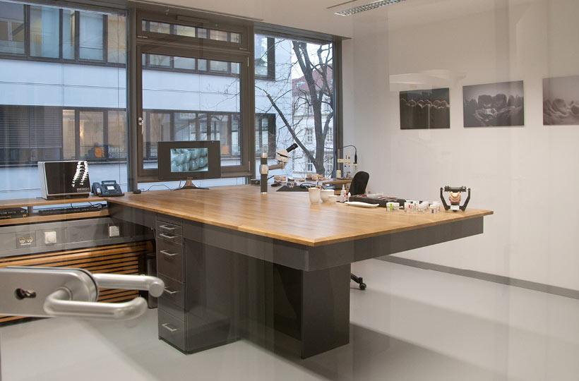 Zahntechnisches Labor im Calwer Turm in Stuttgart