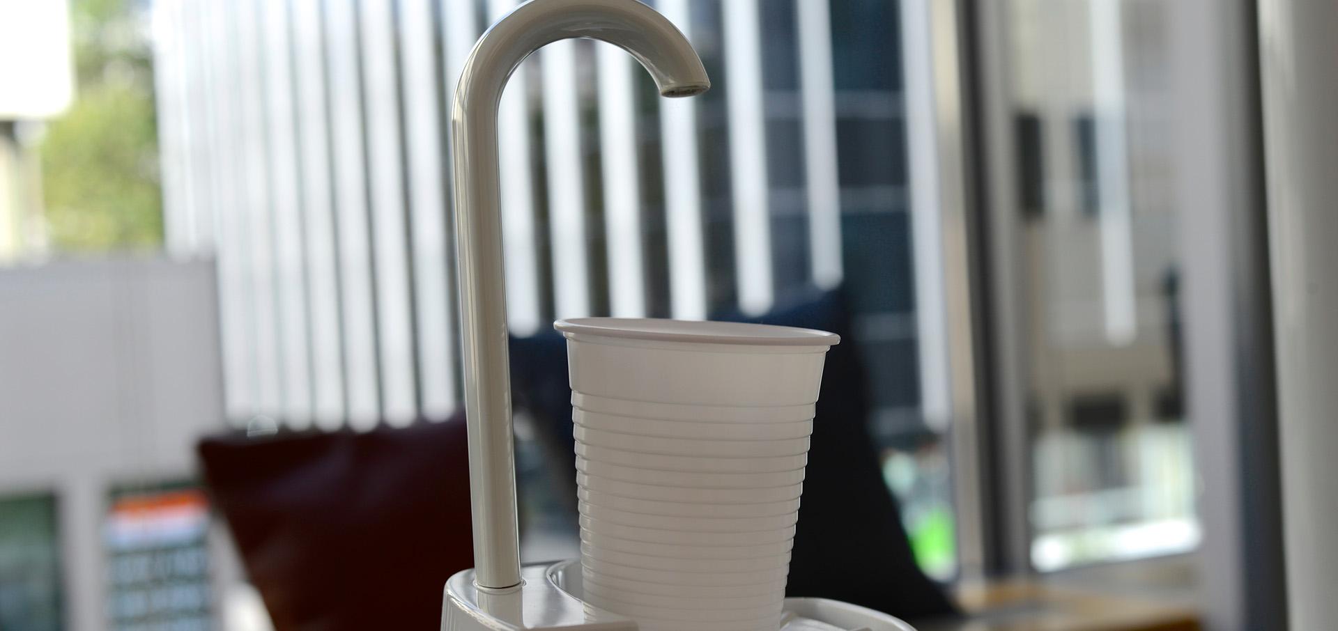 Keimfreies Trinkwasser mit der Hygiene-Technologie von Blue Safety